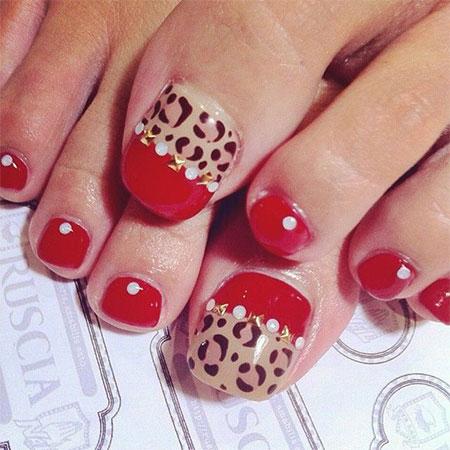 Easy Zoo Farm Animal Toe Nail Art Designs Ideas 2014 2015 Fabulous Nail Art Designs