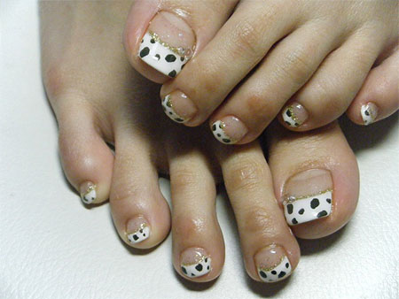 Easy-Zoo-Farm-Animal-Toe-Nail-Art-Designs-Ideas-2013-2014-7