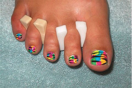 Easy-Zoo-Farm-Animal-Toe-Nail-Art-Designs-Ideas-2013-2014-9