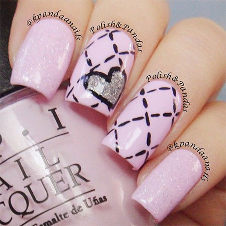 Elegant heart nail art designs ideas for valentines day 2014 elegant heart nail art designs ideas for valentines prinsesfo Choice Image
