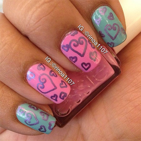 Elegant-Heart-Nail-Art-Designs-Ideas-For-Valentines-Day-2014-14