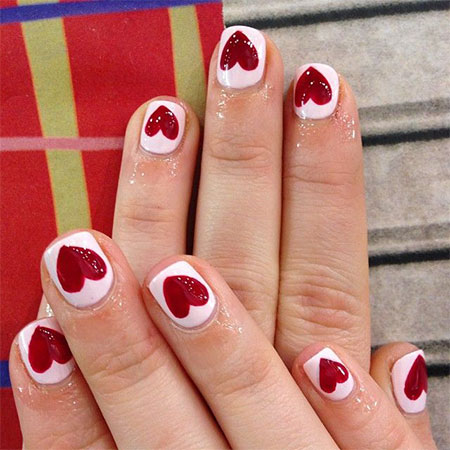 Elegant-Heart-Nail-Art-Designs-Ideas-For-Valentines-Day-2014-15