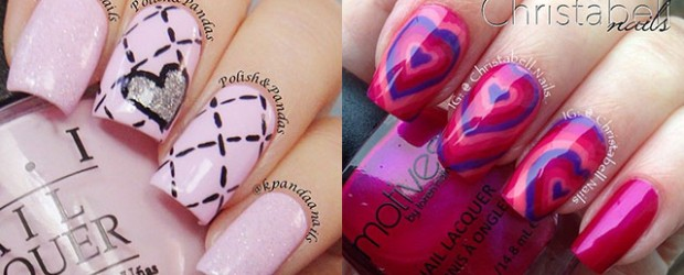 Elegant-Heart-Nail-Art-Designs-Ideas-For-Valentines-Day-2014