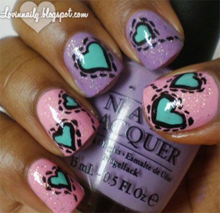 Heart-Nail-Designs-Ideas-For-Valentines-Day-2014-15