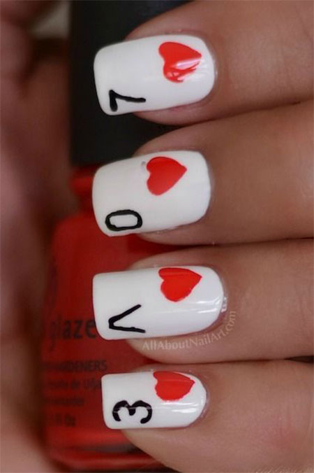 Inspiring love valentines day nail designs ideas 2014 inspiring love valentines day nail designs ideas 2014 prinsesfo Choice Image