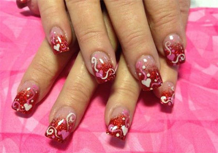 Inspiring-Nail-Art-Designs-Ideas-For-Valentines-Day-2014-Heart-Nails-3