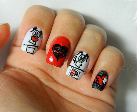 Inspiring-Nail-Art-Designs-Ideas-For-Valentines-Day-2014-Heart-Nails-6