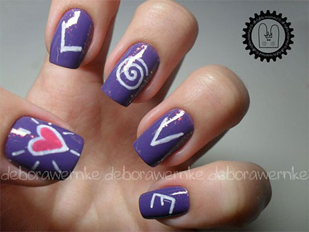 Love-Nail-Art-Designs-Ideas-2014-Valentines-Nails-1