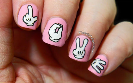 Love-Nail-Art-Designs-Ideas-2014-Valentines-Nails-6