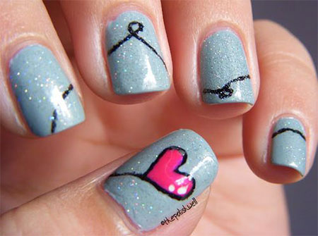 Love-Nail-Art-Designs-Ideas-For-Valentines-Day-2014-Heart-Nails-11