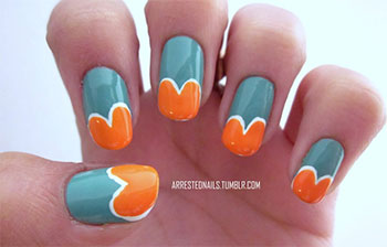 Simple-Heart-Tip-Nail-Art-Designs-Ideas-For-Valentines-Day-2014-1