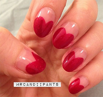 Simple-Heart-Tip-Nail-Art-Designs-Ideas-For-Valentines-Day-2014-4