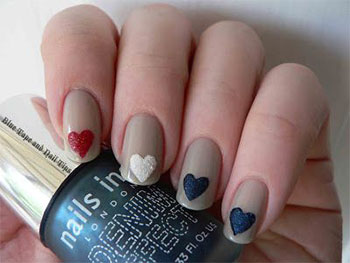 Simple-Heart-Tip-Nail-Art-Designs-Ideas-For-Valentines-Day-2014-8