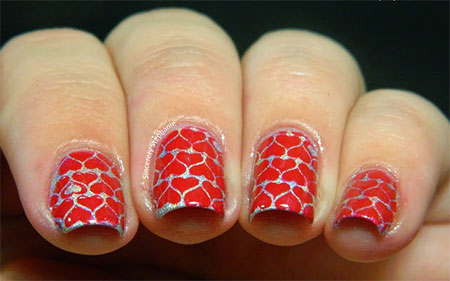 Simple-Nail-Art-Designs-Ideas-For-Valentines-Day-2014-Heart-Nails-10