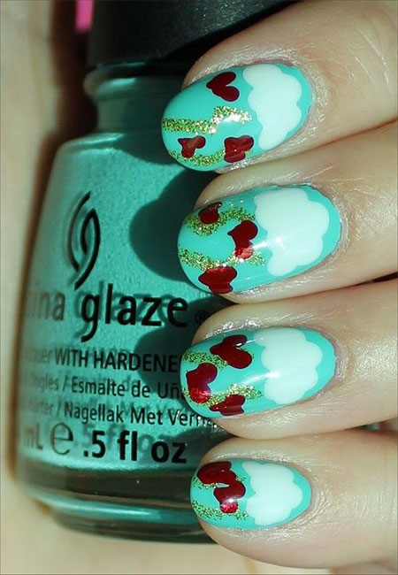Simple-Nail-Art-Designs-Ideas-For-Valentines-Day-2014-Heart-Nails-13