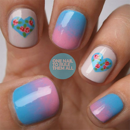 Simple-Nail-Art-Designs-Ideas-For-Valentines-Day-2014-Heart-Nails-2