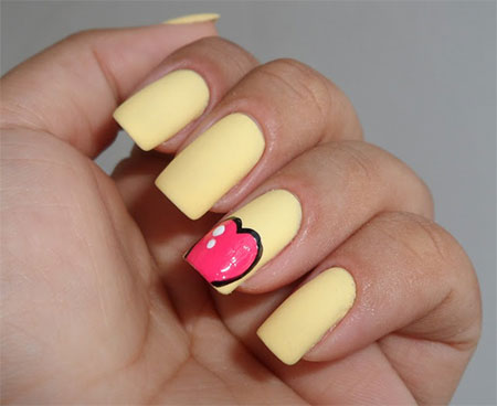 Simple-Nail-Art-Designs-Ideas-For-Valentines-Day-2014-Heart-Nails-6