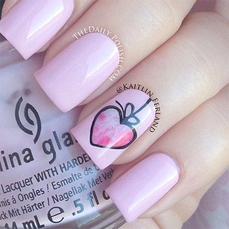 Simple-Nail-Art-Designs-Ideas-For-Valentines-Day-2014-Heart-Nails-7