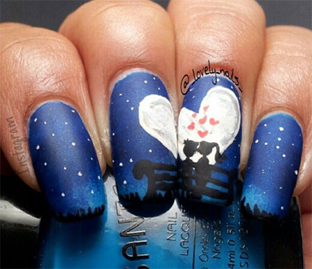 Simple-Nail-Art-Designs-Ideas-For-Valentines-Day-2014-Heart-Nails-9