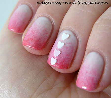 Simple-Valentines-Day-Nail-Art-Designs-Ideas-For-Beginners-2014-Heart-Nails-6