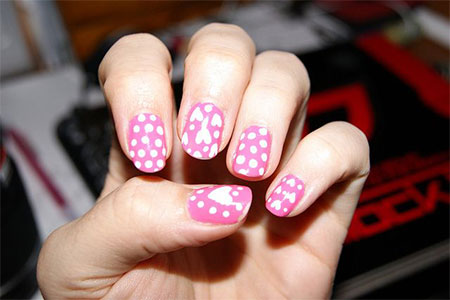 Simple-Valentines-Day-Nail-Art-Designs-Ideas-For-Beginners-2014-Heart-Nails-7