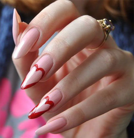 Stunning-Pointy-Heart-Nail-Art-Designs-Ideas-For-Valentines-Day-2014-5