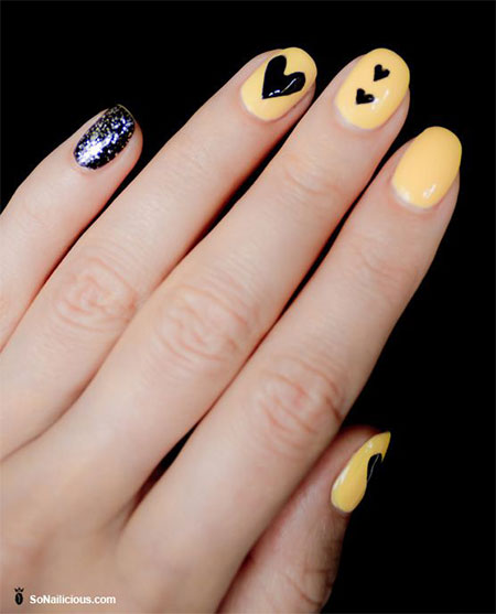 Very-Simple-Easy-Valentines-Day-Nail-Art-Designs-Ideas-For-Learners-2014-11