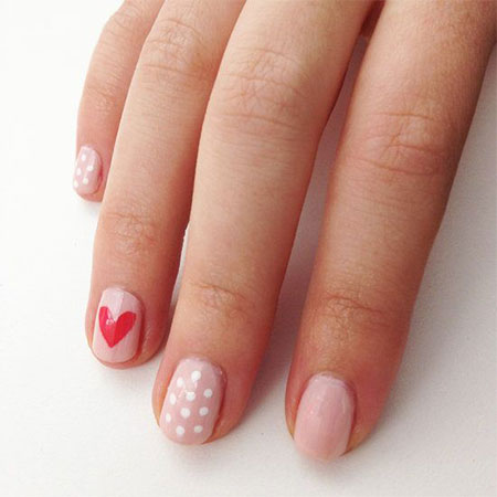 Very-Simple-Easy-Valentines-Day-Nail-Art-Designs-Ideas-For-Learners-2014-12