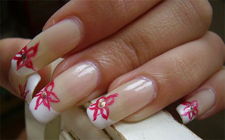 Very-Simple-Easy-Valentines-Day-Nail-Art-Designs-Ideas-For-Learners-2014-8