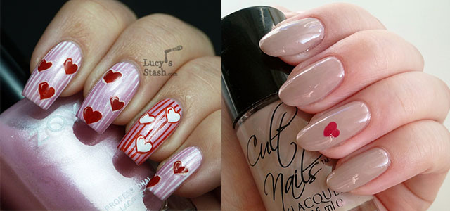 Very simple easy valentines day nail art designs ideas for very simple easy valentines day nail art designs ideas for learners 2014 fabulous nail art designs prinsesfo Choice Image