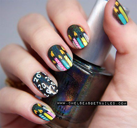 10-Amazing-Happy-B-Day-Candle-Nail-Art-Designs-Ideas-2014-For-Girls-5