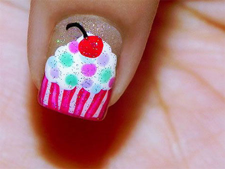 10-Awesome-Happy-B-Day-Cake-Nail-Art-Designs-Ideas-2014-For-Girls-12