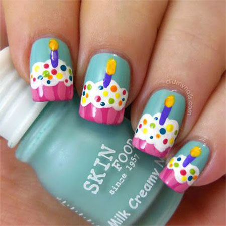 10-Awesome-Happy-B-Day-Cake-Nail-Art-Designs-Ideas-2014-For-Girls-2