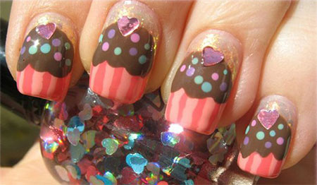 10-Awesome-Happy-B-Day-Cake-Nail-Art-Designs-Ideas-2014-For-Girls-4