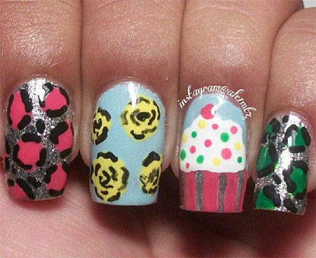 10-Awesome-Happy-B-Day-Cake-Nail-Art-Designs-Ideas-2014-For-Girls-9