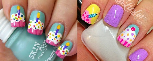 10-Awesome-Happy-B-Day-Cake-Nail-Art-Designs-Ideas-2014-For-Girls