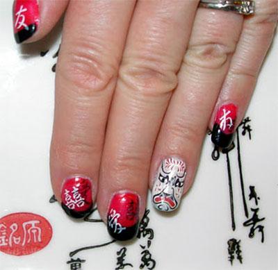 Amazing-Chinese-New-Year-Nail-Art-Designs-Ideas-2014-1