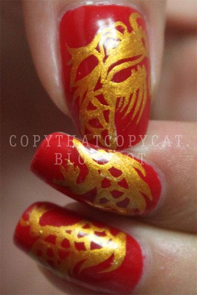 Amazing-Chinese-New-Year-Nail-Art-Designs-Ideas-2014-11