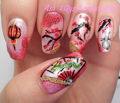 Amazing-Chinese-New-Year-Nail-Art-Designs-Ideas-2014-2