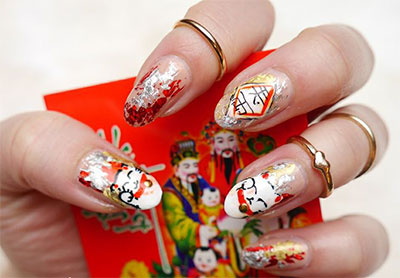 Amazing-Chinese-New-Year-Nail-Art-Designs-Ideas-2014-4
