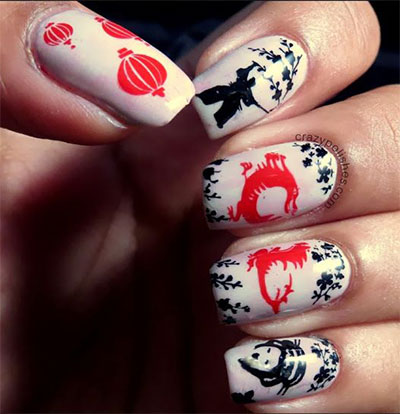 Amazing-Chinese-New-Year-Nail-Art-Designs-Ideas-2014-6