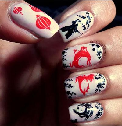 Amazing-Chinese-New-Year-Nail-Art-Designs-Ideas-2014-6