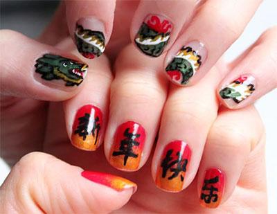 Amazing-Chinese-New-Year-Nail-Art-Designs-Ideas-2014-7
