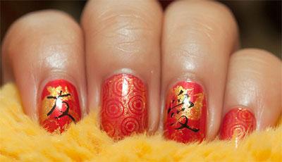 Amazing-Chinese-New-Year-Nail-Art-Designs-Ideas-2014-8