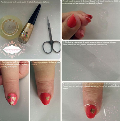 amazing valentines day nail art tutorials 2014 for