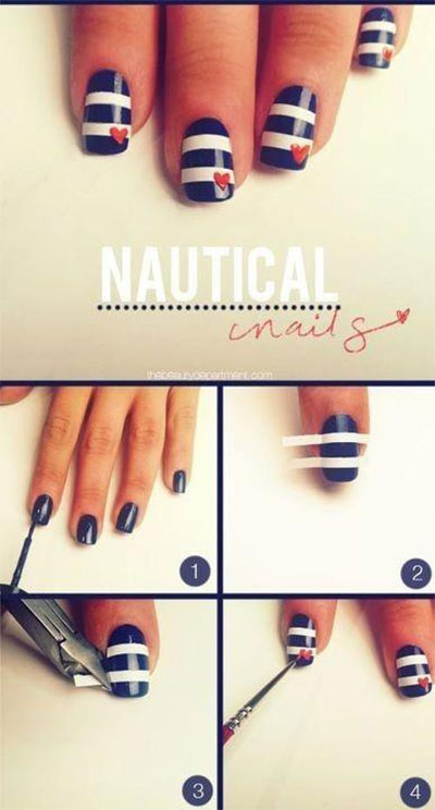 Amazing-Valentines-Day-Nail-Art-Tutorials-2014-For-Beginners-Learners-5