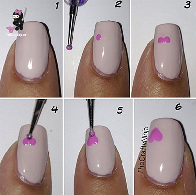 Amazing-Valentines-Day-Nail-Art-Tutorials-2014-For-Beginners-Learners-8