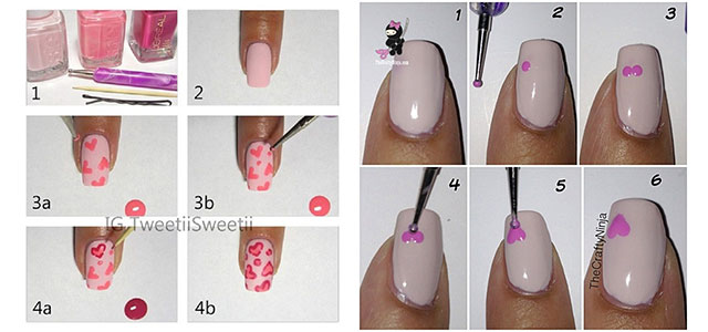 Amazing-Valentines-Day-Nail-Art-Tutorials-2014-For-Beginners-Learners