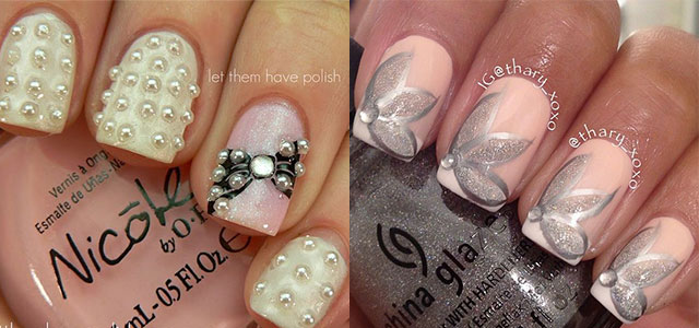 Amazing Wedding Nail Art Designs & Ideas 2014 | Fabulous Nail Art ...