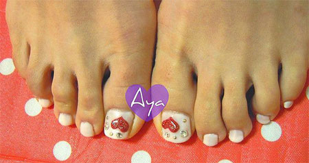 Cute-Valentines-Day-Toe-Nail-Art-Designs-Ideas-2014-2